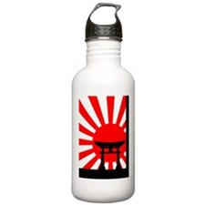 Japanese Torii in the  Water Bottle