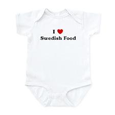 I love Swedish Food Infant Bodysuit