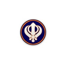 Khalsa Pride Mini Button