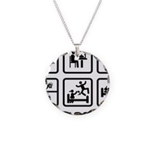 Goalball-ABA1 Necklace