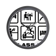 Frisbee-AAZ1 Wall Clock