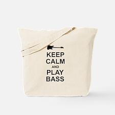 Keep Calm - Bass2 Tote Bag