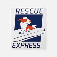 Rescue Express Throw Blanket