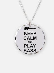 Keep Calm - Bass2 Necklace