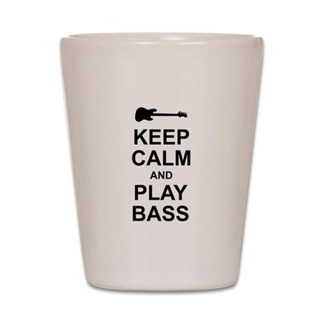 Keep Calm - Bass2 Shot Glass