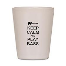 Keep Calm - Bass2 Shot Glass