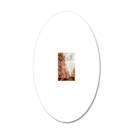 bw_iPhone_Snap_Case 20x12 Oval Wall Decal