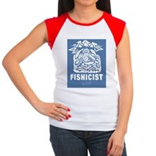 The #Fishicist by Ebenl Women's Cap Sleeve T-Shirt