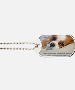 Cavalier King Charles Spaniel in Heaven Dog Tags
