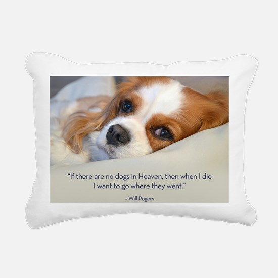 Cavalier King Charles Sp Rectangular Canvas Pillow