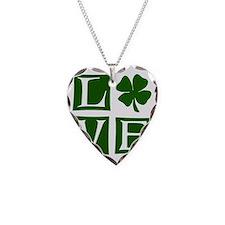 Love St. Patricks Day Necklace