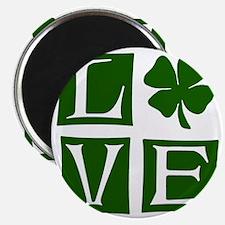 Love St. Patricks Day Magnet