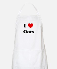 I love Oats BBQ Apron
