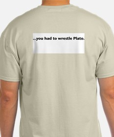 Wrestle Plato T-Shirt