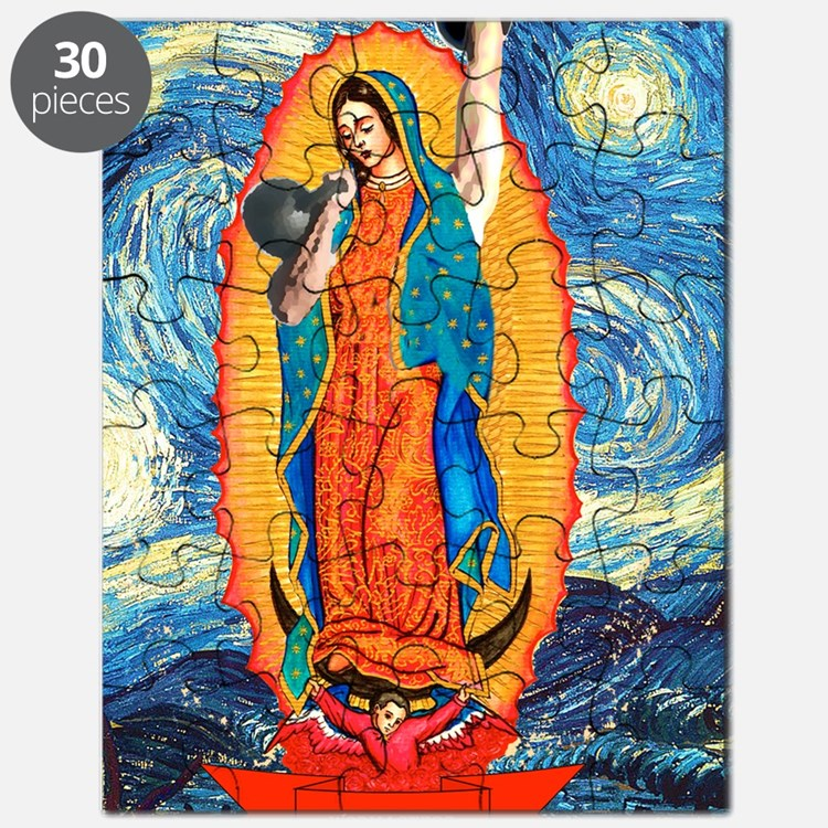 CrossFit Lady of Guadalupe Puzzle