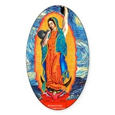 CrossFit Lady of Guadalupe Decal