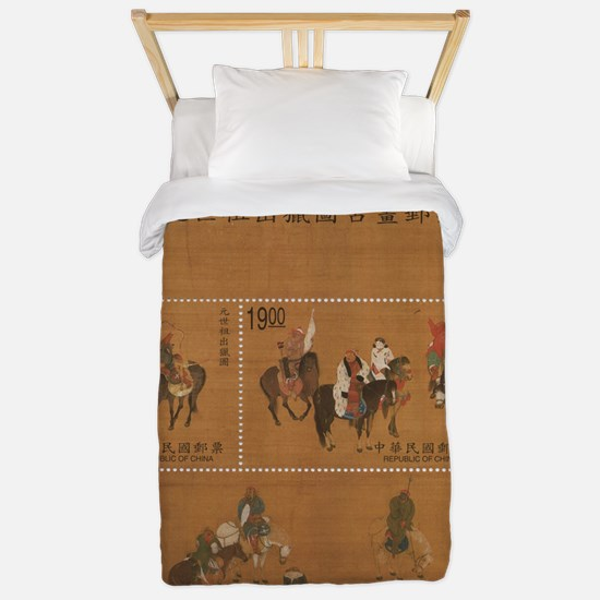 Classic Chinese Design Twin Duvet