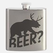 The Bear Deer Beer Flask