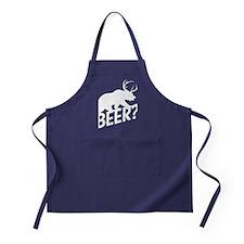 The Bear Deer Beer Apron (dark)