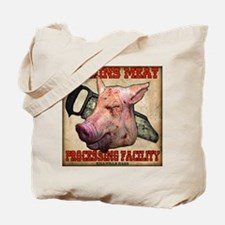 Harkins Meat Pig Tote Bag