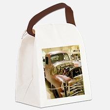 Gun Welded Rat-Rod Truck Canvas Lunch Bag