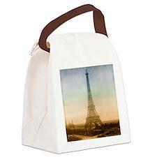 tet_round_coaster Canvas Lunch Bag