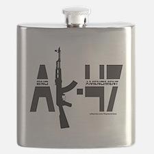 AK-47/2ND AMENDMENT/SECOND AMENDMENT Flask