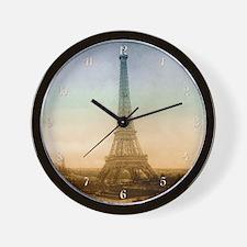 tet_d_wooden  Wall Clock
