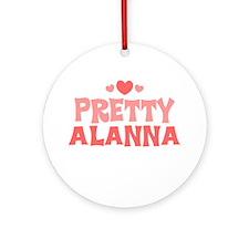 Alanna Ornament (Round)