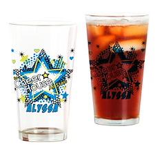 blanket-alyssa Drinking Glass