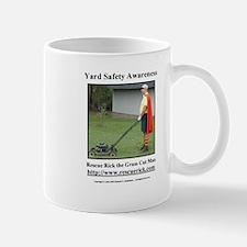 Yard Safety Awareness Mug Mugs