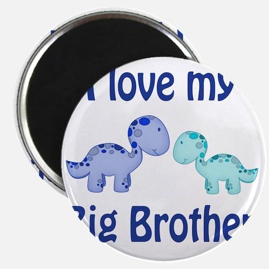 I love my big brother Dinosaur Magnet