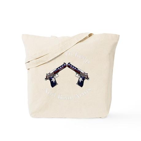 Patriotic RKBA Guns Tote Bag
