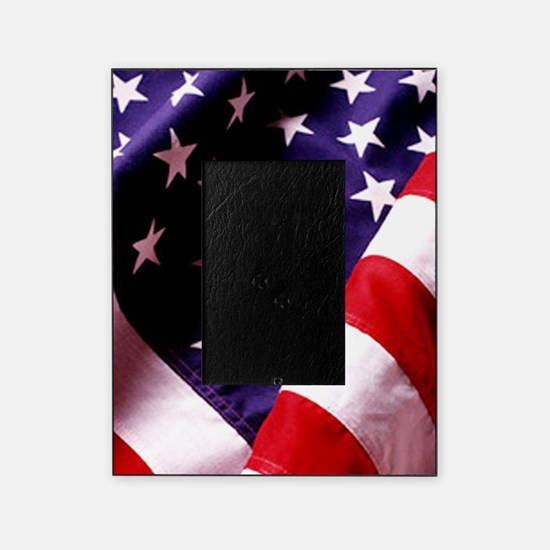 American Flag Picture Frame