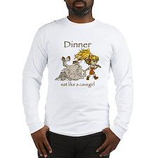 Cavegirl Long Sleeve T-Shirt