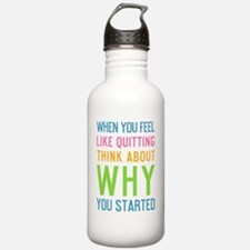 ipad When you feel lik Water Bottle