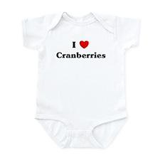 I love Cranberries Infant Bodysuit