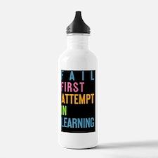 card FAIL First Attemp Water Bottle