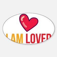 I am loved back Decal