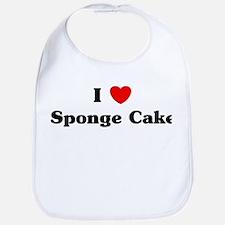 I love Sponge Cake Bib