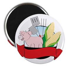 Pork And Corn Roast Magnet
