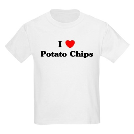 I love Potato Chips Kids Light T-Shirt