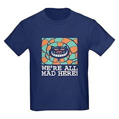 Cheshire Cat Kids Dark T-Shirt