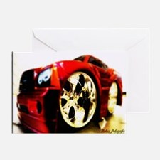Dodge Charger Sports Car Auto Greeting Card