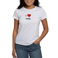 I Love Italy Tee