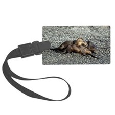 River Otters Luggage Tag