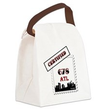 678 ATL Certified Forever Canvas Lunch Bag