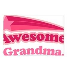 Awesome Grandma Postcards (Package of 8)