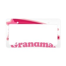 Awesome Grandma License Plate Holder