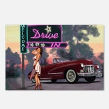 Welcome Drive In Postcards (Package of 8)